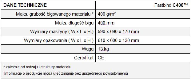 Bigówka - C400